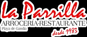 logo La Parrilla - Playa de Gandia